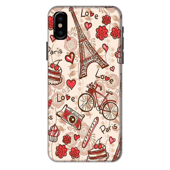 Ốp lưng dành cho điện thoại iPhone XR - X/XS - XS MAX - Phong Cách Pari