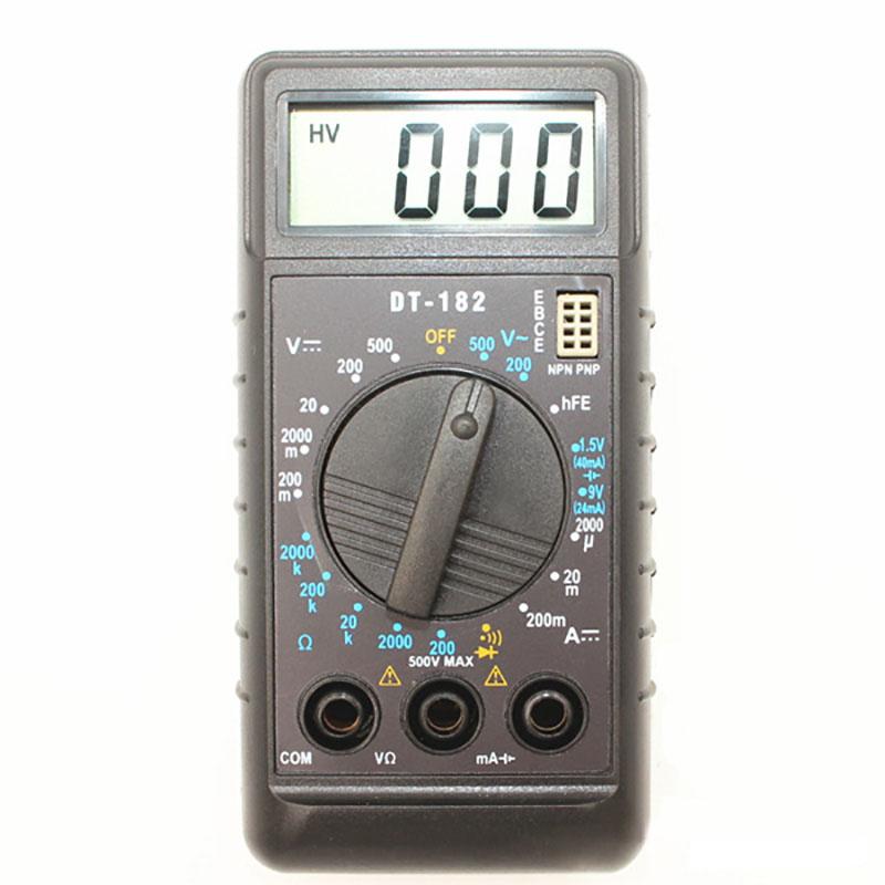 Đồng hồ đo điện vạn năng mini DT182