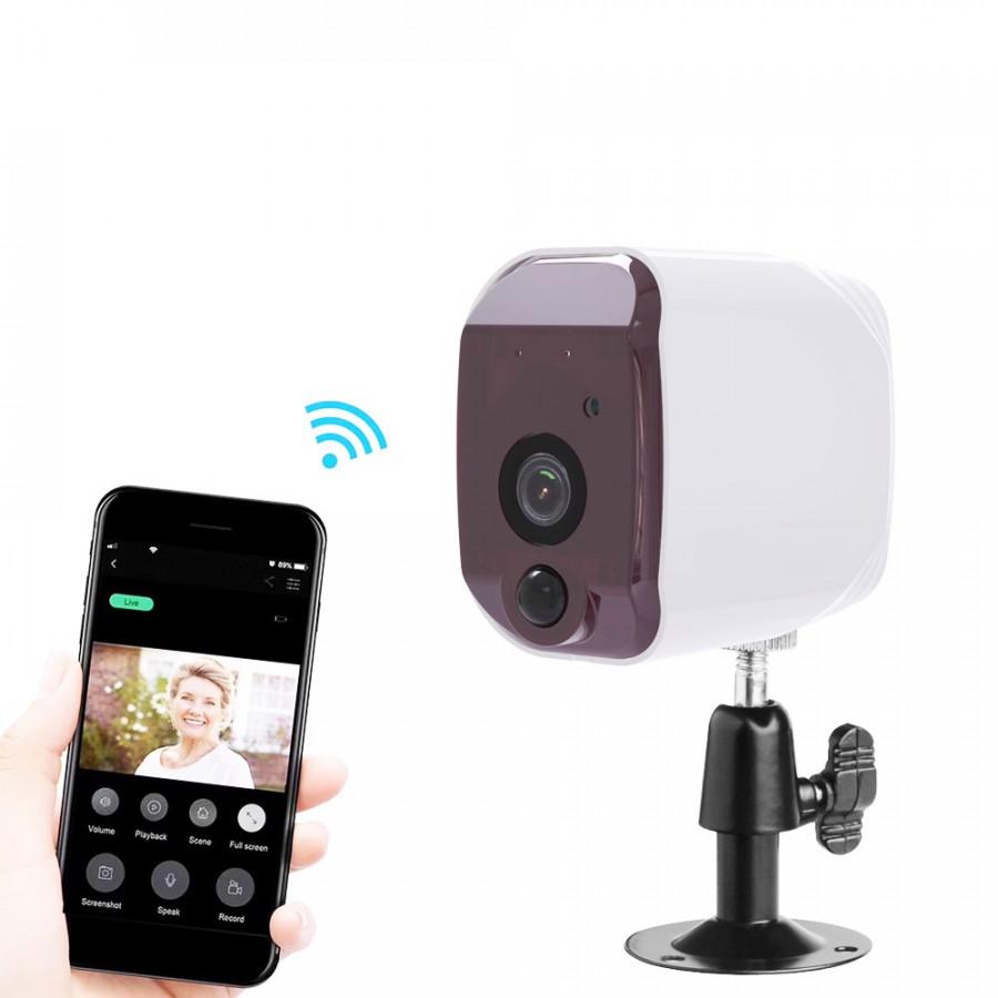 Camera mini IP không dây Aturos N3 BS909 bảo mật cao lưu trữ đám mây/ thẻ SD, chống nước, dùng pin (Hàng nhập khẩu)