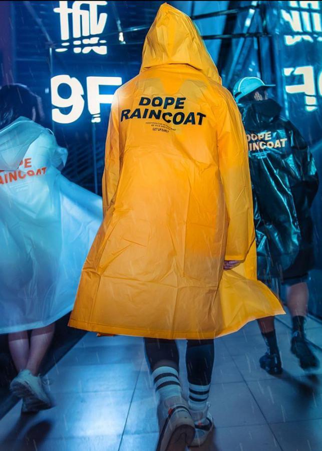 Áo mưa Dope RainCoat thời trang unisex phong cách Hàn Quốc - 2369200 , 5105669694050 , 62_15513099 , 599000 , Ao-mua-Dope-RainCoat-thoi-trang-unisex-phong-cach-Han-Quoc-62_15513099 , tiki.vn , Áo mưa Dope RainCoat thời trang unisex phong cách Hàn Quốc