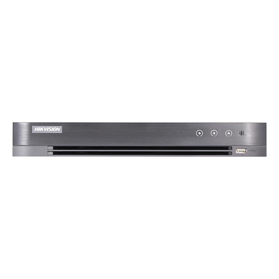 Đầu ghi hình 8 kênh HD-TVI 5.0MP H265 + hỗ trợ POC DS-7208HUHI-K2/P - Hàng Nhập Khẩu
