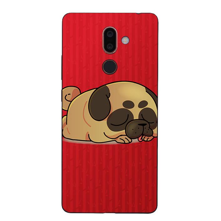 Ốp Lưng Dẻo Cho Điện Thoại Nokia 7 Plus - Cute Dog 03