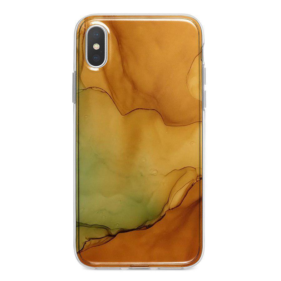 Ốp Lưng Điện Thoại Vân Đá Cho iPhone X A-001-012-C-IPX