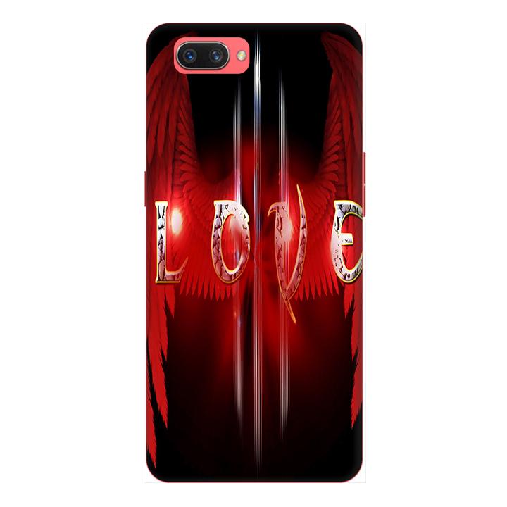 Ốp lưng cho điện thoại Realme C1 hình Love You
