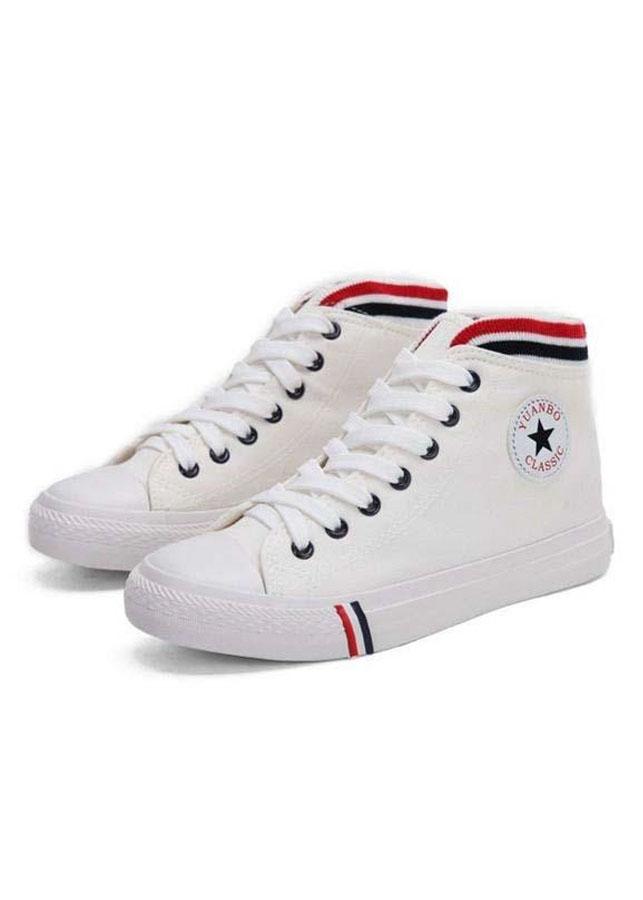 Giày vải nữ đế cao Rozalo RM3188