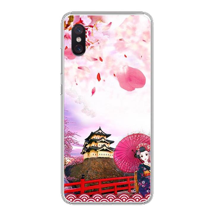 Ốp lưng cho Xiaomi Mi 8 Pro - 0298 NHATBAN - Silicone dẻo - Hàng Chính Hãng