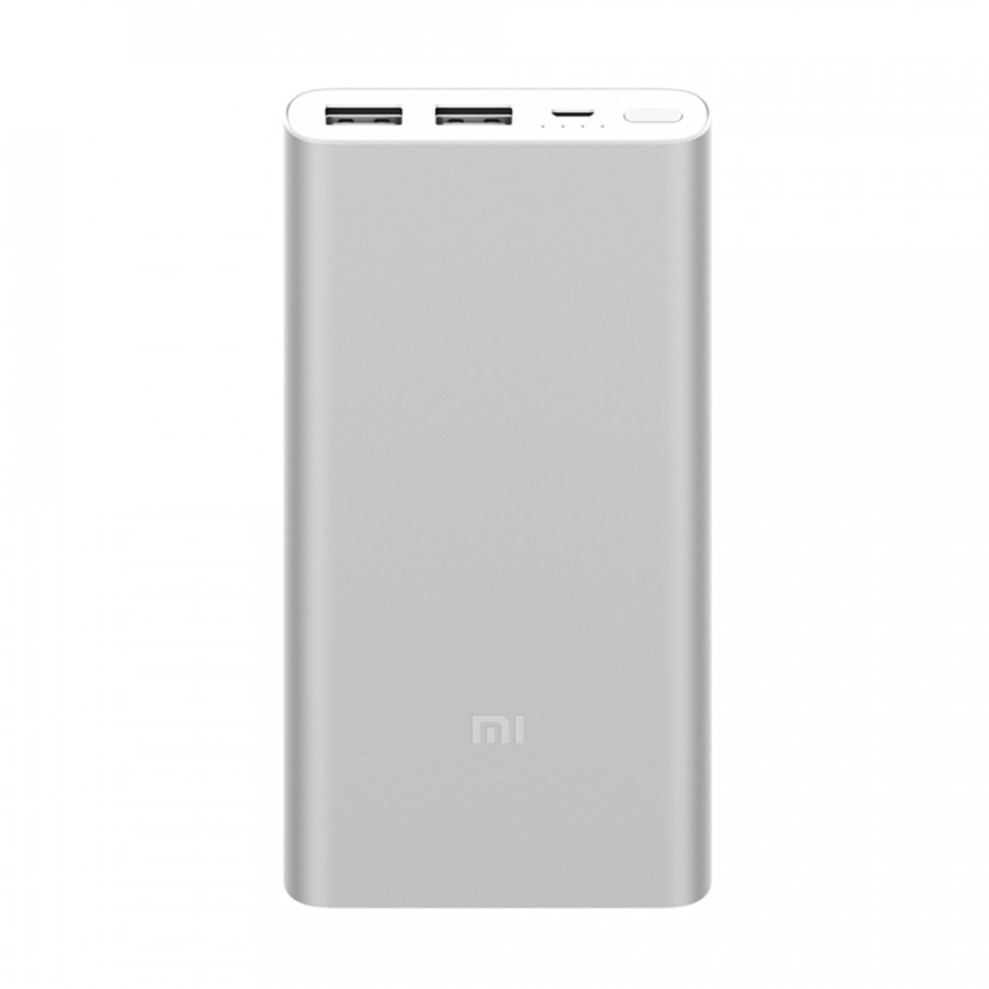 2018 Original New Version Xiaomi Mi Power Bank 2 Portable 10000mAh External Backup Power Station Large Capacity 2-way