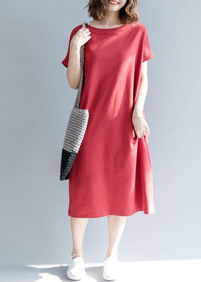 Đầm suông phối túi D3033