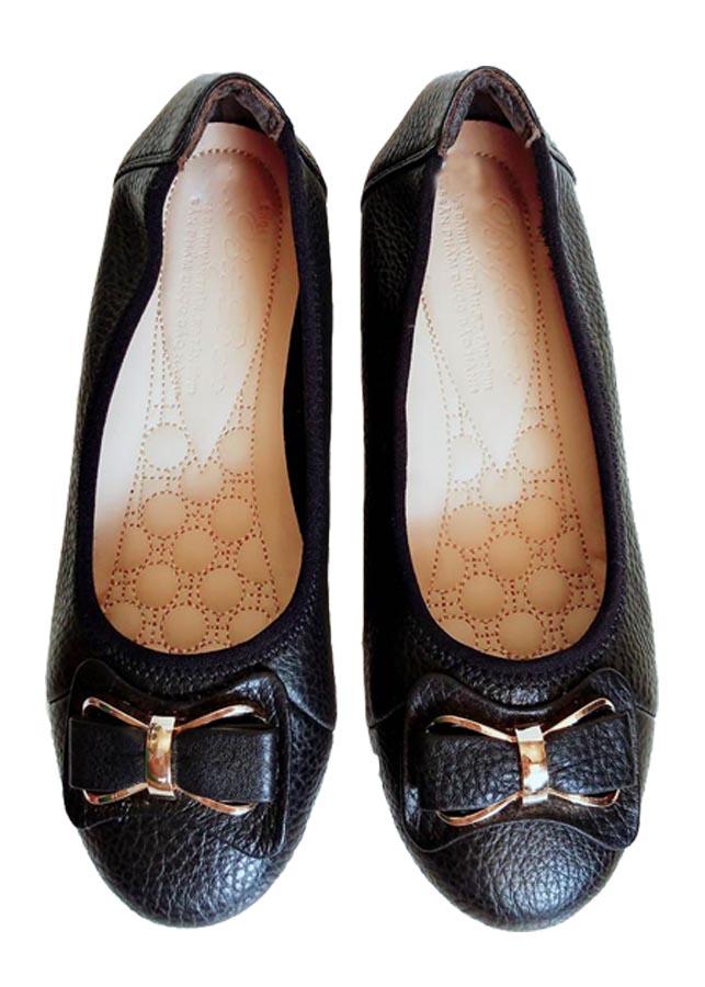 Giày Búp Bê BIGGBEN Da Bò Thật Cao Cấp BB20