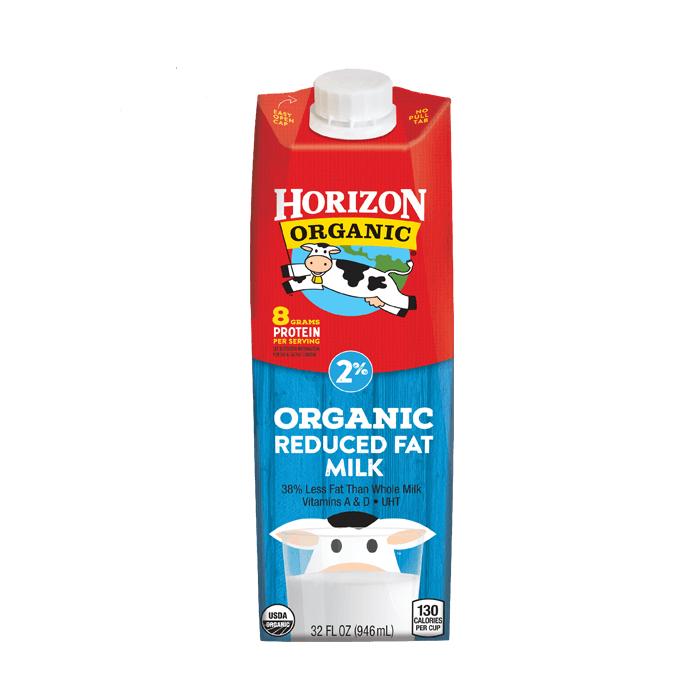 Thùng 6 hộp sữa hữu cơ tách béo hiệu Horizon 946ml
