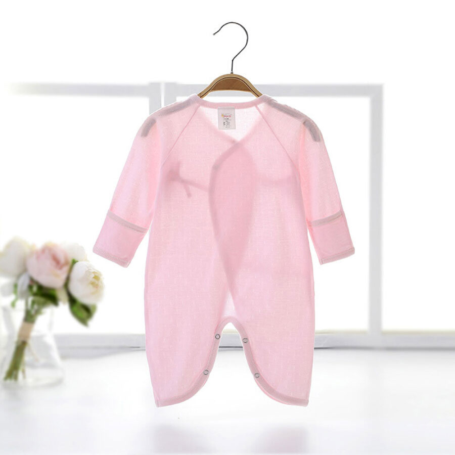 Berry Plus Babyprints Newborn Siamese Clothes Baby Climbing Suit Baby Monk Clothes Harbin Underwear Cotton Butterfly Clothes Pink 52cm0-3 Month...