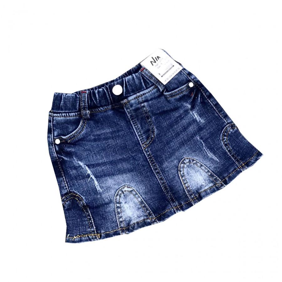 Chân váy Jean cào rách siêu xinh xắn dành cho bé gái - 9871921 , 8714536712826 , 62_19382990 , 190000 , Chan-vay-Jean-cao-rach-sieu-xinh-xan-danh-cho-be-gai-62_19382990 , tiki.vn , Chân váy Jean cào rách siêu xinh xắn dành cho bé gái