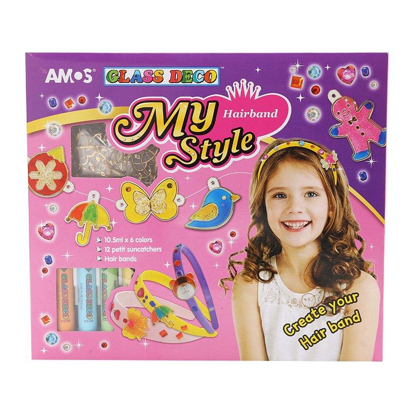 Màu Vẽ Trang Trí Amos Glass Deco My Style Hairband SD10P6- MSH