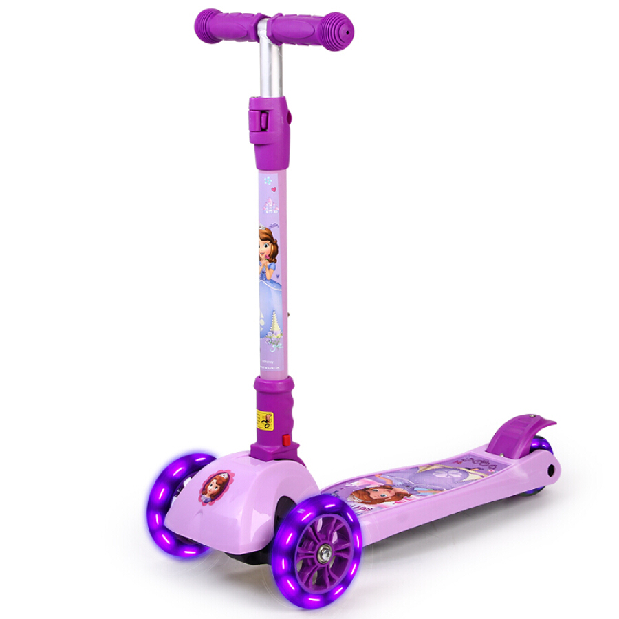 Disney 3-8 Child Scooter Kids Toy Car Four Wheels Flash Swing Car Collapsible Lift Baby Sliding Bicycle Sofia DCA71106-Y - 767916 , 1848877277144 , 62_8860018 , 1026000 , Disney-3-8-Child-Scooter-Kids-Toy-Car-Four-Wheels-Flash-Swing-Car-Collapsible-Lift-Baby-Sliding-Bicycle-Sofia-DCA71106-Y-62_8860018 , tiki.vn , Disney 3-8 Child Scooter Kids Toy Car Four Wheels Flash Sw