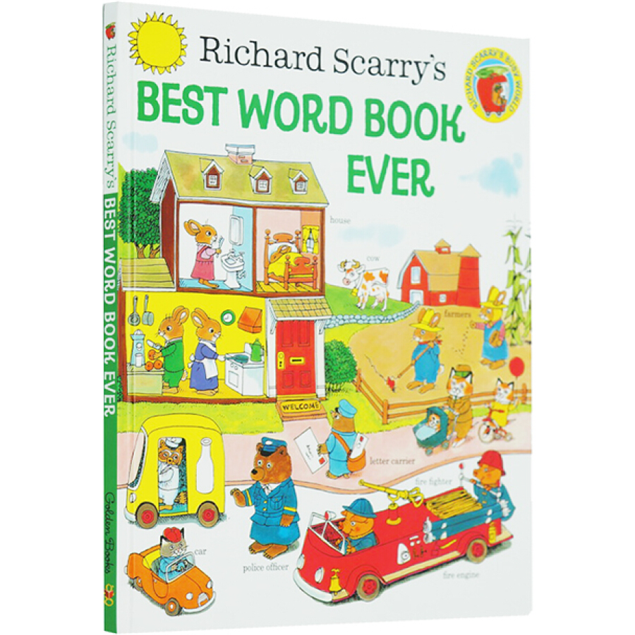 Richard Scarrys Best Word Book Ever (Giant Golden Book)