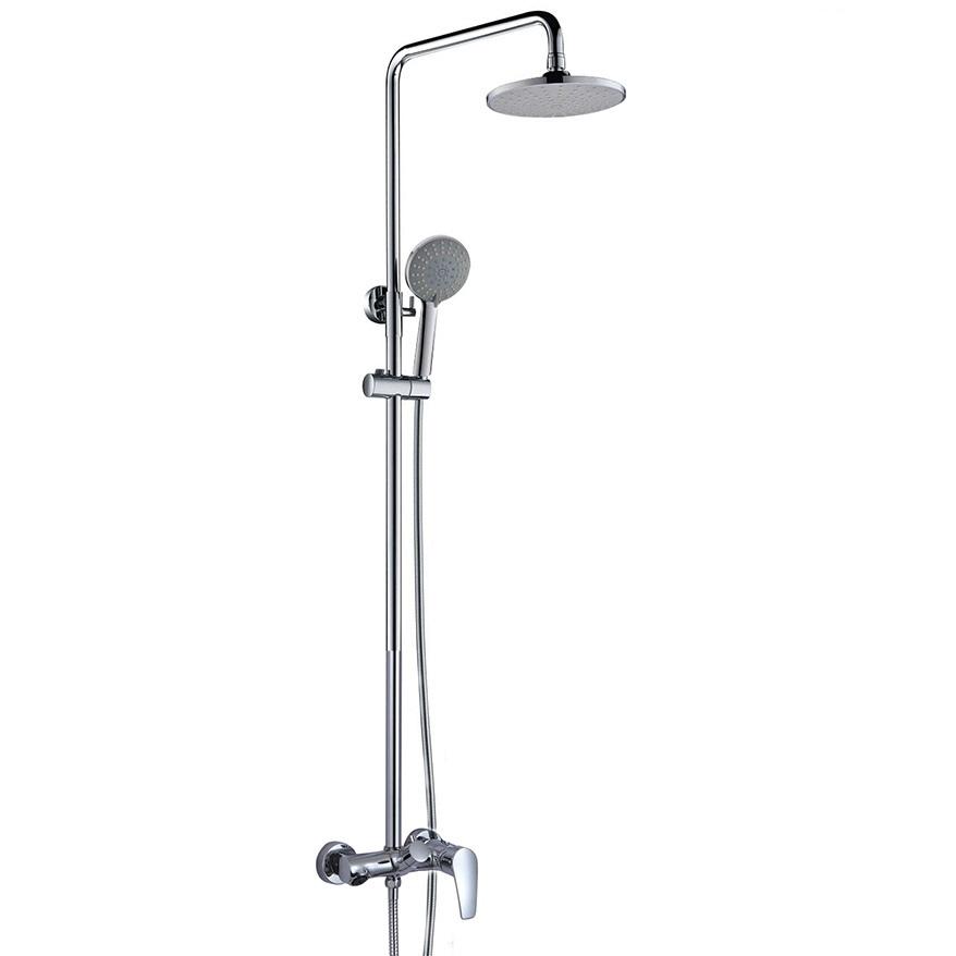 Bộ sen cây tắm đứng nóng lạnh Eurolife EL-S902 (Trắng bạc)