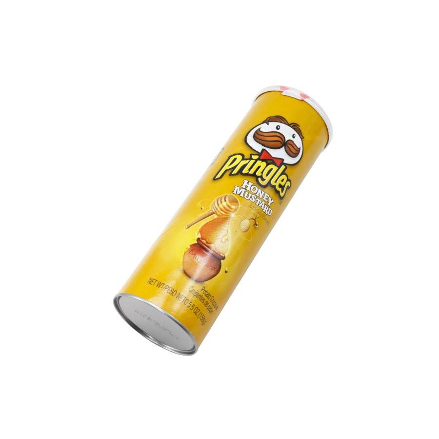 Bộ 2  Khoai tây chiên Pringles  Honey Mustard 158g - Nhập khẩu Mỹ