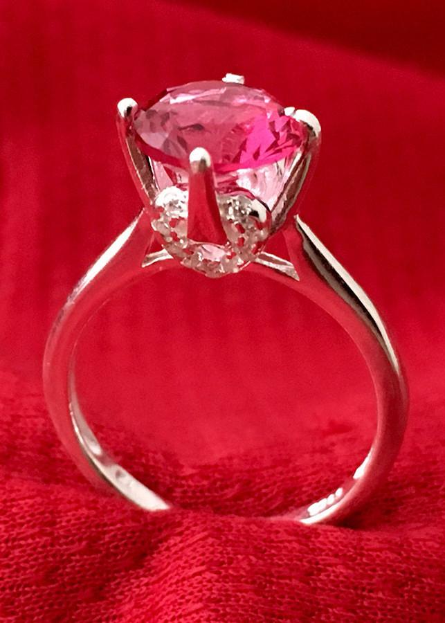 Nhẫn nữ ổ cao bốn chấu đá đỏ bạc 925 cao cấp Bạc Quang Thản - NU32 (BẠC) - 1049895 , 3684113236180 , 62_6417297 , 260000 , Nhan-nu-o-cao-bon-chau-da-do-bac-925-cao-cap-Bac-Quang-Than-NU32-BAC-62_6417297 , tiki.vn , Nhẫn nữ ổ cao bốn chấu đá đỏ bạc 925 cao cấp Bạc Quang Thản - NU32 (BẠC)