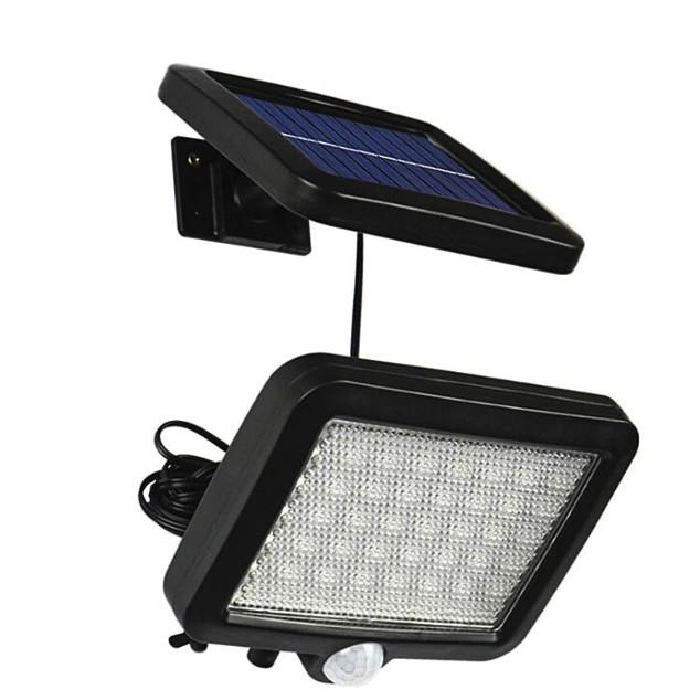 Đèn Led năng lượng mặt trời cảm biến chuyển động 56 LED chống nước cao cấp
