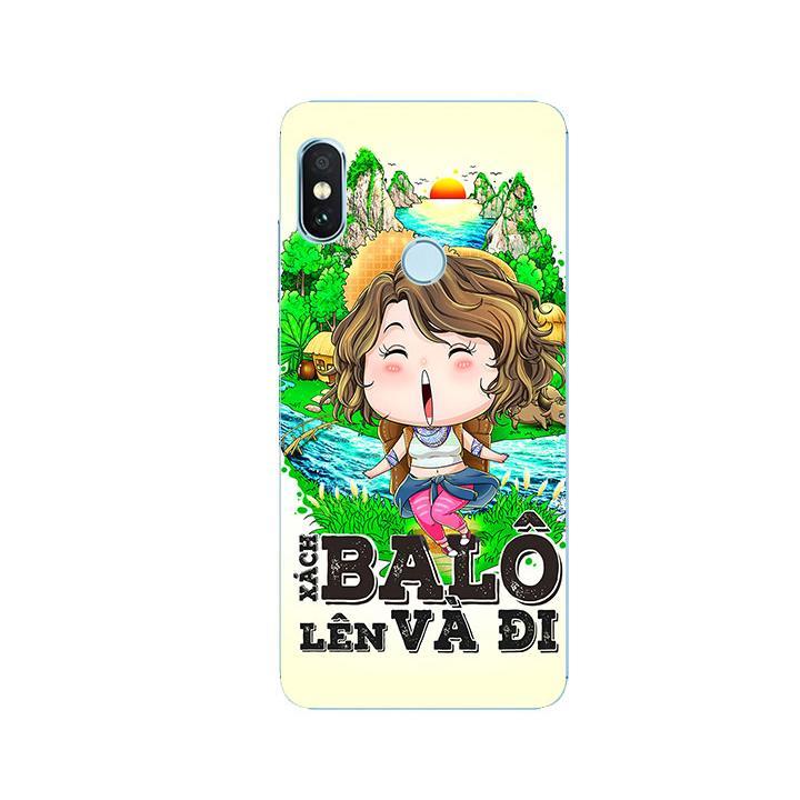 Ốp Lưng Dẻo Cho Điện thoại Xiaomi Redmi Note 5 - Go Go