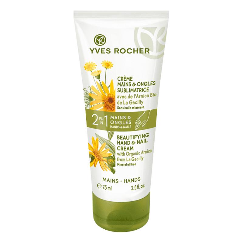 Dưỡng Ẩm Cho Da Tay Và Móng Yves Rocher 2In1 Beautifying Hand Nail Cream 75ml
