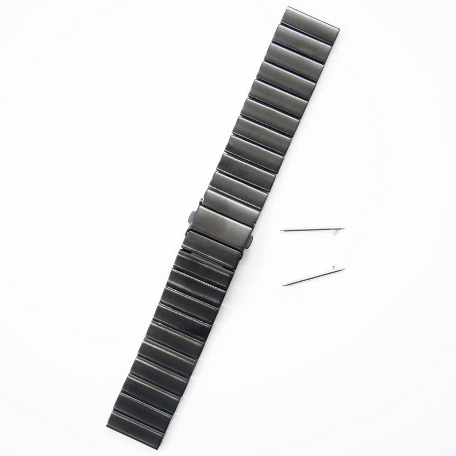 Dây Thép Cánh Bướm Đen Cho Gear S3, Galaxy Watch,(Size 22mm) - 1356862 , 4126446080973 , 62_5950373 , 650000 , Day-Thep-Canh-Buom-Den-Cho-Gear-S3-Galaxy-WatchSize-22mm-62_5950373 , tiki.vn , Dây Thép Cánh Bướm Đen Cho Gear S3, Galaxy Watch,(Size 22mm)