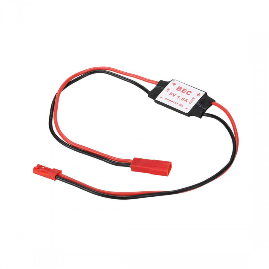 Small Light Step-Down Module 1.5 A / 5 V 2-4 S Switch Mode Ubec Helicopter Four Axis Aircraft Gimbal Servo Power Receiver