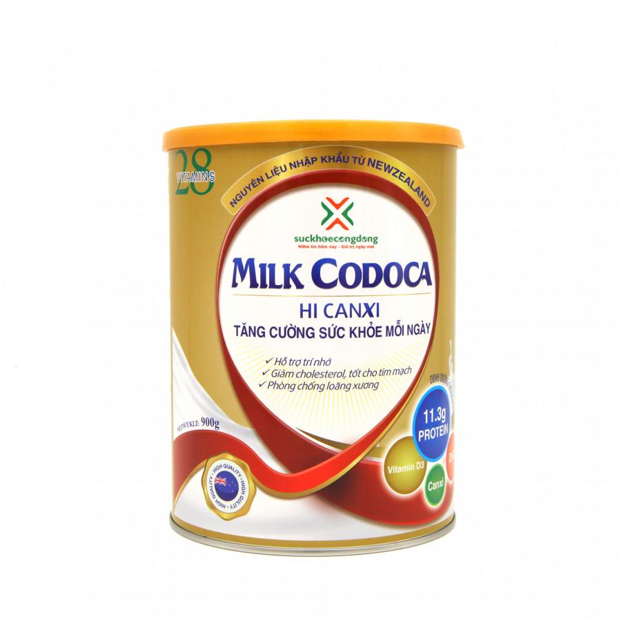 Sữa dinh dưỡng tăng cường sức khỏe Milk Codoca (Hộp 900g) - 1846668 , 1064350200359 , 62_13958612 , 450000 , Sua-dinh-duong-tang-cuong-suc-khoe-Milk-Codoca-Hop-900g-62_13958612 , tiki.vn , Sữa dinh dưỡng tăng cường sức khỏe Milk Codoca (Hộp 900g)