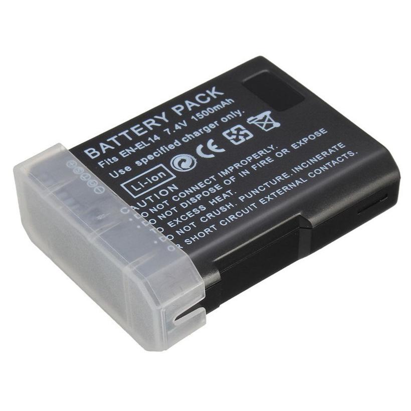 Pin máy ảnh EN-EL14 cho Nikon D3100 D3200 D5100 D5200 P7000 P7100 D5300