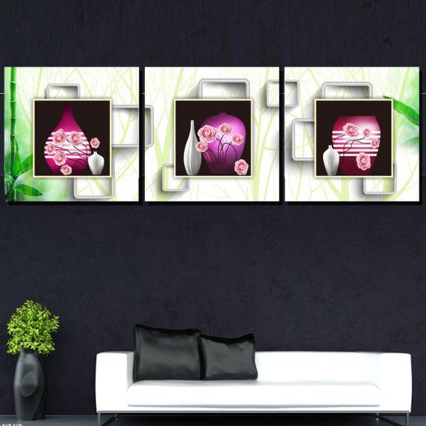Tranh Canvas treo tường nghệ thuật | Bộ 3 bức vuông| HLB_036 - 18444227 , 6105487726697 , 62_21578632 , 620000 , Tranh-Canvas-treo-tuong-nghe-thuat-Bo-3-buc-vuong-HLB_036-62_21578632 , tiki.vn , Tranh Canvas treo tường nghệ thuật | Bộ 3 bức vuông| HLB_036