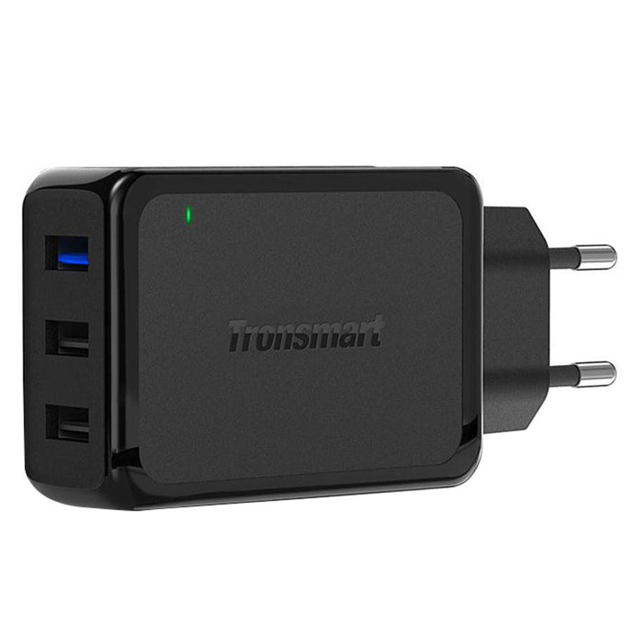 Adapter Sạc Tronsmart 42W 3 Cổng QC 3.0 W3PTA - Hàng Chính Hãng