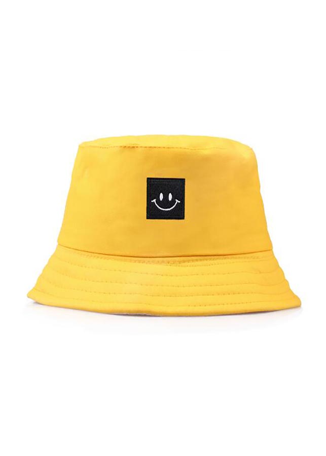 Mũ tai bèo mặt cười vàng - MV32v