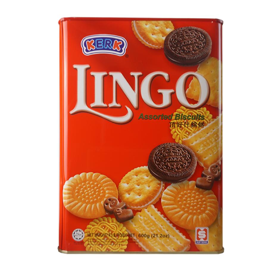 Bánh Quy Thập Cẩm Hiệu Kerk - Lingo Assorted (600G) - 1269701 , 5125414362539 , 62_10194111 , 190000 , Banh-Quy-Thap-Cam-Hieu-Kerk-Lingo-Assorted-600G-62_10194111 , tiki.vn , Bánh Quy Thập Cẩm Hiệu Kerk - Lingo Assorted (600G)