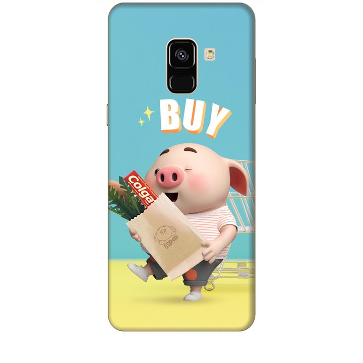 Ốp lưng dành cho điện thoại  SAMSUNG GALAXY A8 2018 Heo Con Mua Sắm