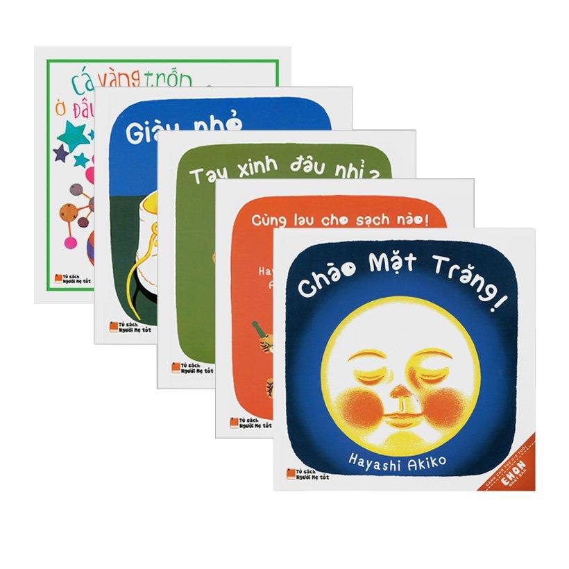 Combo ehon nhật bản dành cho trẻ từ 0 - 3 tuổi (bộ 5 cuốn)
