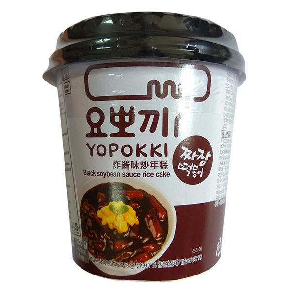 Bánh Gạo Topokki - Yopokki Vị Xốt Tương Đen Cốc (120g) - 1357415 , 1020475021132 , 62_6184893 , 47500 , Banh-Gao-Topokki-Yopokki-Vi-Xot-Tuong-Den-Coc-120g-62_6184893 , tiki.vn , Bánh Gạo Topokki - Yopokki Vị Xốt Tương Đen Cốc (120g)