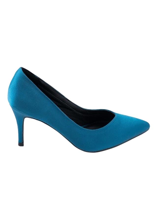 Giày Bít Mũi Nữ Satin B740