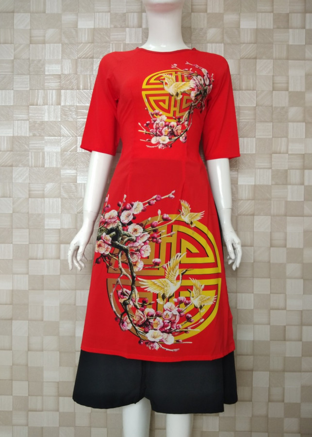 Bộ áo dài cách tân kèm váy mừng xuân BY2030 - 1339025 , 3431822817199 , 62_8066435 , 429000 , Bo-ao-dai-cach-tan-kem-vay-mung-xuan-BY2030-62_8066435 , tiki.vn , Bộ áo dài cách tân kèm váy mừng xuân BY2030