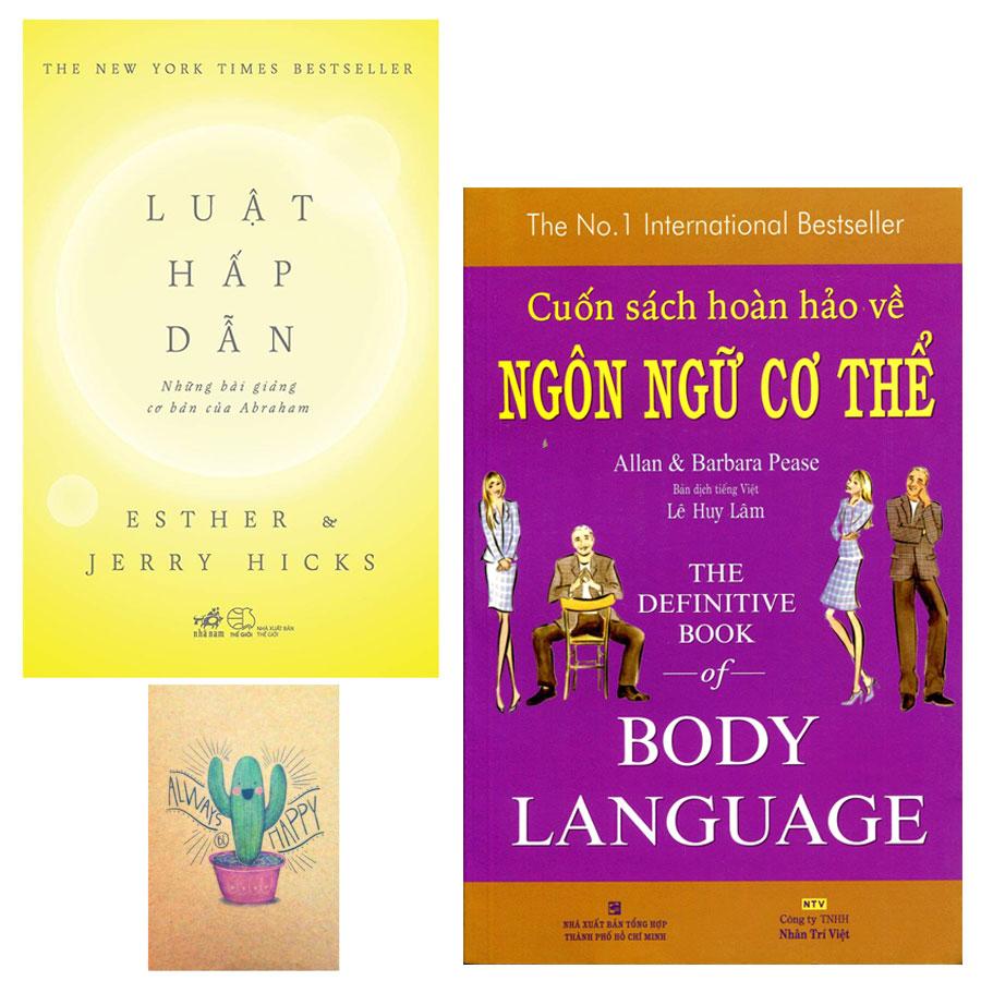 Combo Luật Hấp Dẫn và Cuốn Sách Hoàn Hảo Về Ngôn Ngữ Cơ Thể - Body Language (Tặng Kèm Sổ Tay) - 1580812 , 7133904688234 , 62_10405013 , 287000 , Combo-Luat-Hap-Dan-va-Cuon-Sach-Hoan-Hao-Ve-Ngon-Ngu-Co-The-Body-Language-Tang-Kem-So-Tay-62_10405013 , tiki.vn , Combo Luật Hấp Dẫn và Cuốn Sách Hoàn Hảo Về Ngôn Ngữ Cơ Thể - Body Language (Tặng Kèm S