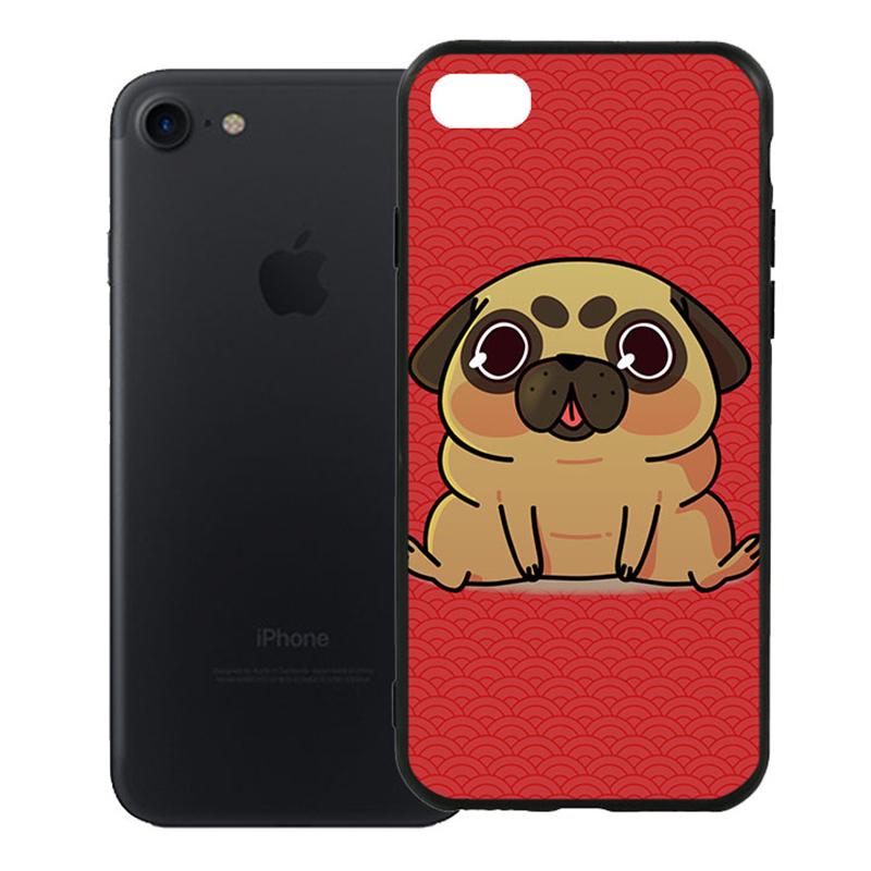 Ốp Lưng Viền TPU Cao Cấp Dành Cho iPhone 7 - Cute Dog 02