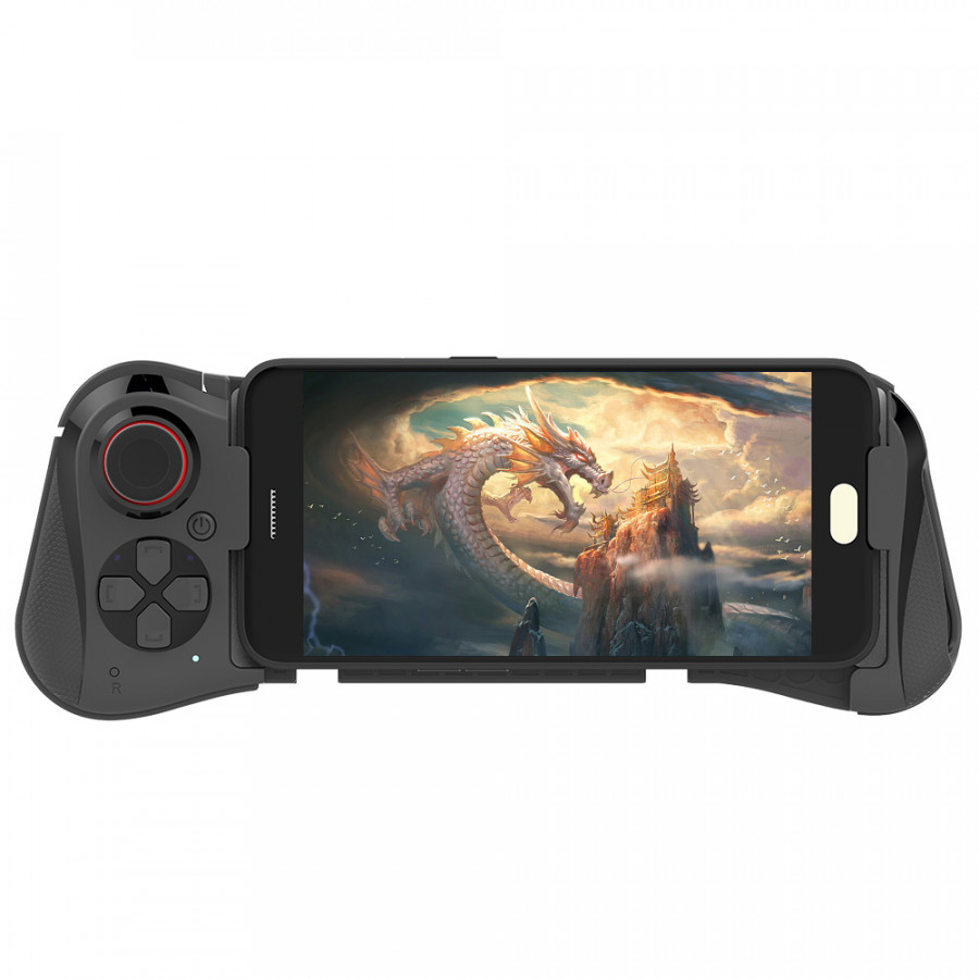 MOCUTE 058 Wireless BT 3 In 1 Gamepad + Joystick + Phone Holder Telescopic Game Controller Smartphone Tablet Handle for