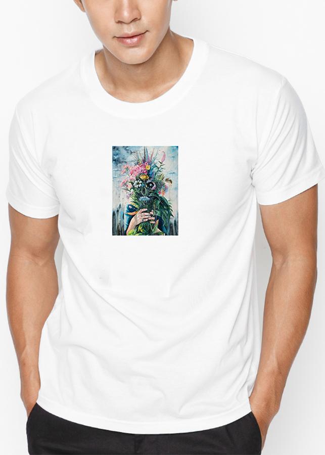 Áo Thun Nam In Hình The Last Flowers - Trắng - 874914 , 5642355782757 , 62_5147611 , 199000 , Ao-Thun-Nam-In-Hinh-The-Last-Flowers-Trang-62_5147611 , tiki.vn , Áo Thun Nam In Hình The Last Flowers - Trắng