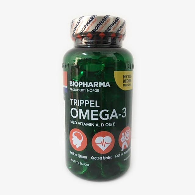 Thực Phẩm Chức Năng Dầu Cá Omega 3 Na-uy dành cho mọi lứa tuổi (Trippel omega 3)