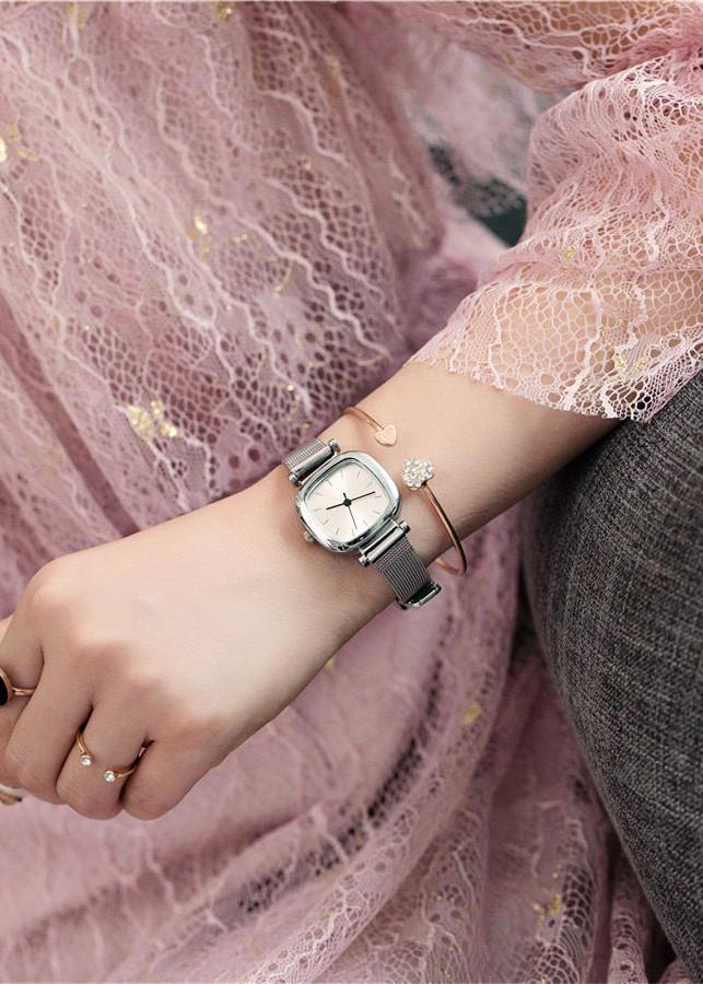 Đồng hồ nữ dây kim loại mặt vuông - 2137447 , 9693277233809 , 62_13721074 , 250000 , Dong-ho-nu-day-kim-loai-mat-vuong-62_13721074 , tiki.vn , Đồng hồ nữ dây kim loại mặt vuông