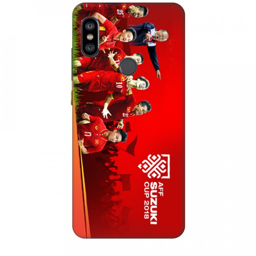 Ốp Lưng Dành Cho Xiaomi Note 6 Pro AFF Cup - Đội Tuyển Việt Nam Mẫu 1