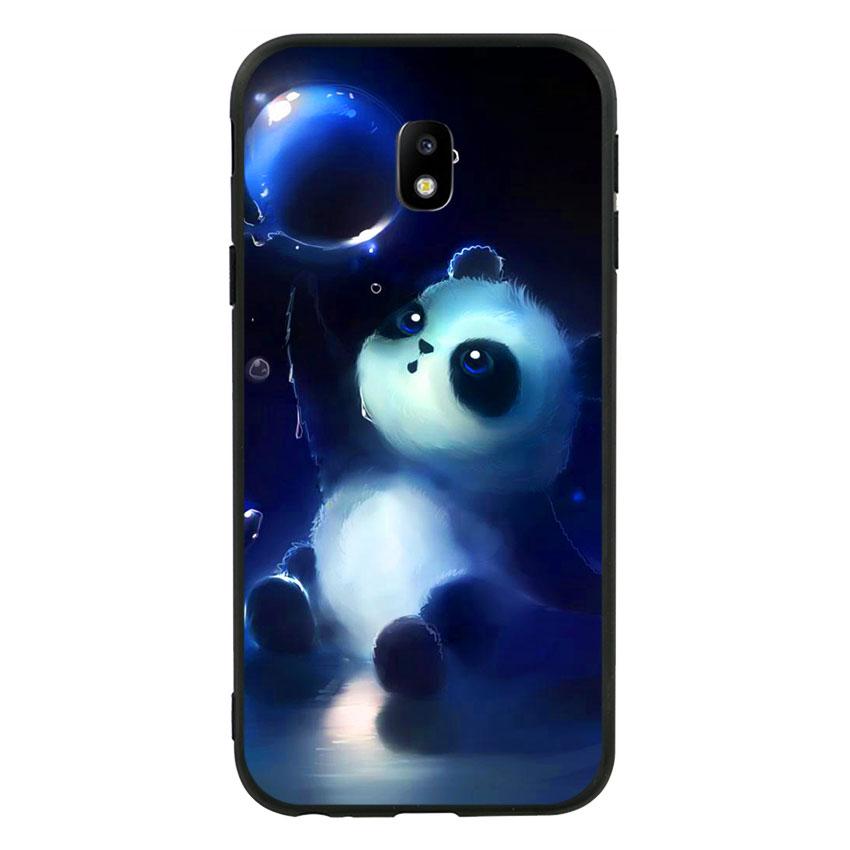 Ốp lưng viền TPU cho Samsung Galaxy J3 Pro 2017 - Panda