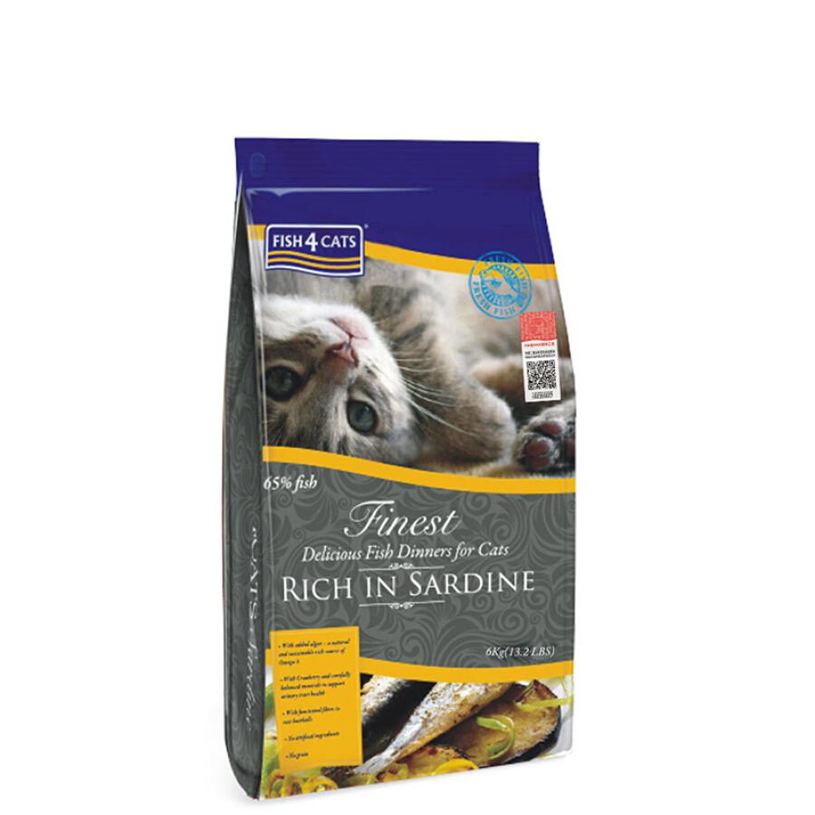 Thức Ăn Cho Mèo Fish 4 Cats 6kg