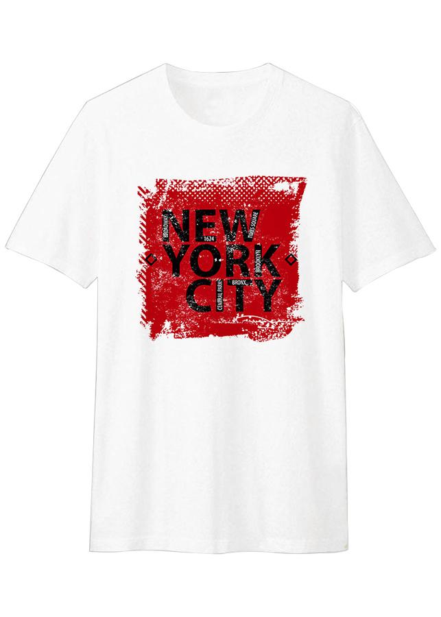 Áo Thun T-shirt Unisex Dotilo New York City HM003 - Trắng - 1350710 , 5199938927673 , 62_8130240 , 299000 , Ao-Thun-T-shirt-Unisex-Dotilo-New-York-City-HM003-Trang-62_8130240 , tiki.vn , Áo Thun T-shirt Unisex Dotilo New York City HM003 - Trắng