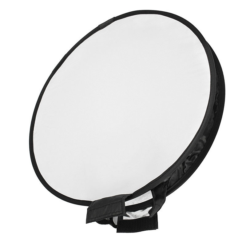 40cm Studio Soft Screen Softbox Photography Pop-Up Flash Diffuser For Camera