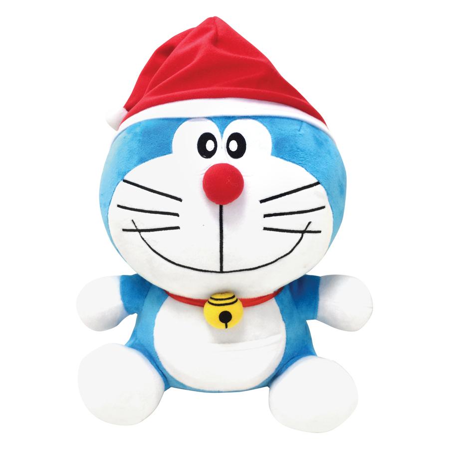 Thú Bông Giáng Sinh Doraemon Tagger (33cm)